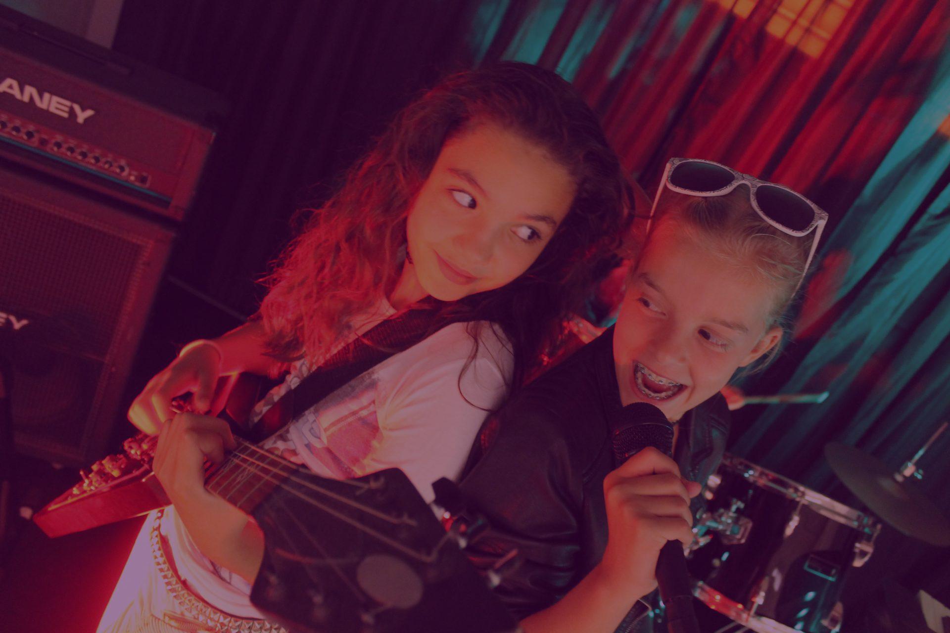 Muziekles in Groningen